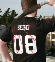 Black Zombie Hunter shirt by Seibei