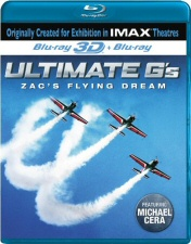 Ultimate G's: Zac's Flying Dream Blu-Ray 3D