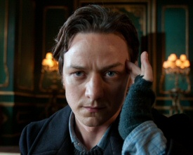James McAvoy as Professor X in X-Men: First Class
