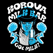 Korova Milk Bar T-Shirt Bordello