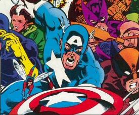 Captain America from Secret Wars