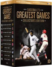 Baseball's Greatest Games: Collector's Edition DVD