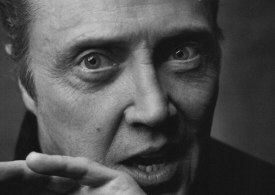 Christopher Walken closeup