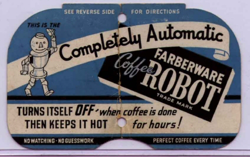 Farberware Coffee Robot