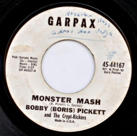 Monster Mash 45 single