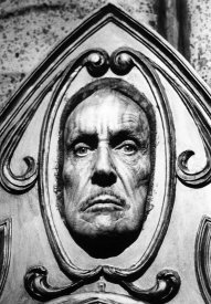 The face of Vincent Price