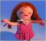 The misfit doll from Rudolph the Red-Nosed Reindeer