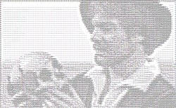Derek Jacobi as ASCII Hamlet
