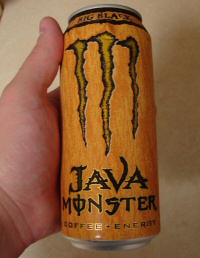 Big Black Java Monster