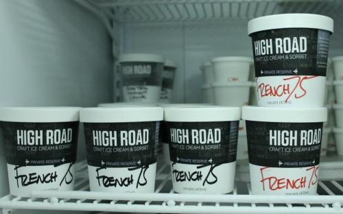 High Road Craft Ice Cream French 75 Champagne Ice Cream