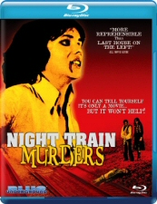 Night Train Murders Blu-Ray
