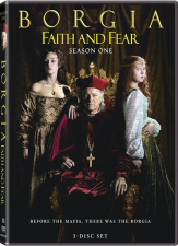 Borgia Faith and Fear Season 1 DVD