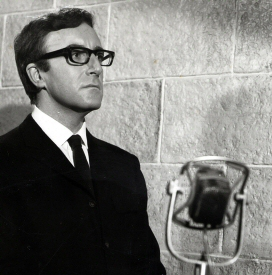 Peter Sellers and Microphone