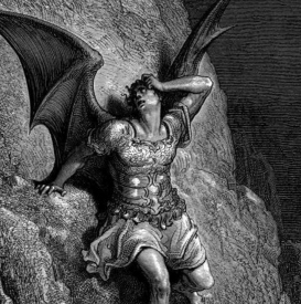 Satan from Paradise Lost