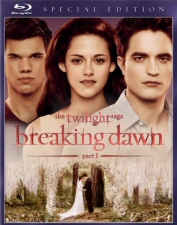 Twilight: Breaking Down Part 1 Blu-Ray
