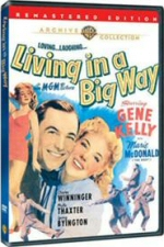 Living in a Big Way Warner Archive DVD
