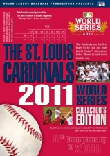 St Louis Cardinals 2011 World Series Collectors Edition DVD