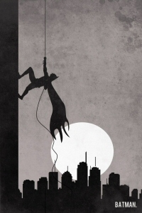Batman Retro Poster