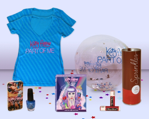 Katy Perry: Part of Me Prize Pack