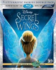 Secret of the Wings Blu-Ray 3D