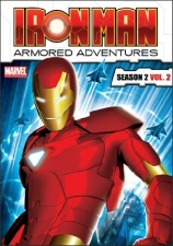 Iron Man: Armored Adventures Season 2, Vol. 2 DVD