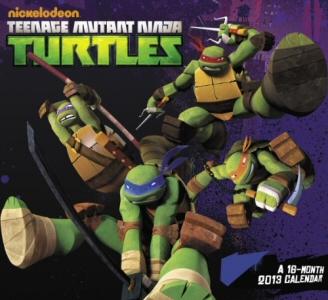 Teenage Mutant Ninja Turtles 16 Month 2013 Calendar