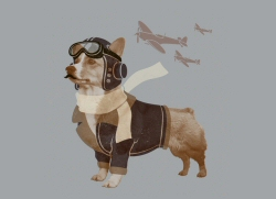 Defender of the Sky by Joe Van Wetering and Phil Tseng from Threadless
