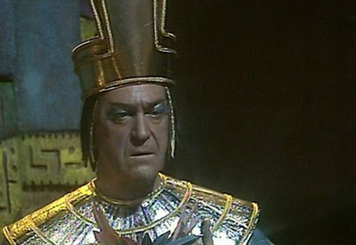 Patrick Troughton from The Feathered Serpent