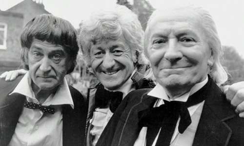Patrick Troughton, Jon Pertwee, William Hartnell: Three Doctors