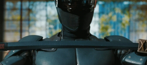 Ray Park as Snake Eyes in G.I. Joe: Retaliation 3D