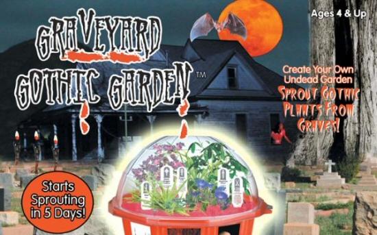 Graveyard Gothic Garden Terrarium Kit
