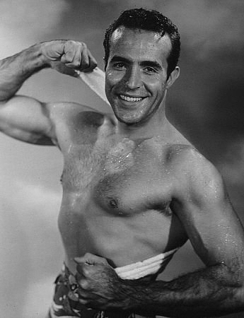 Ricardo Montalban shirtless