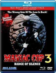 Maniac Cop 3: Badge of Silence Blu-Ray
