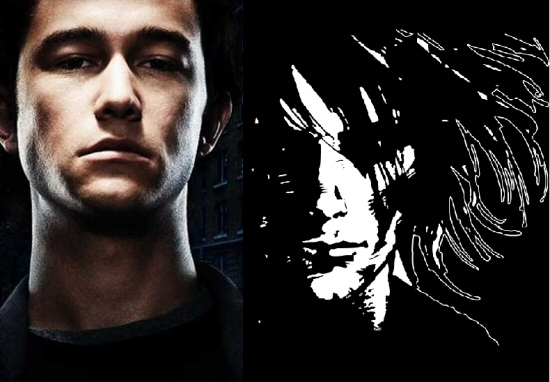 Joseph Gordon-Levitt and Morpheus from Sandman