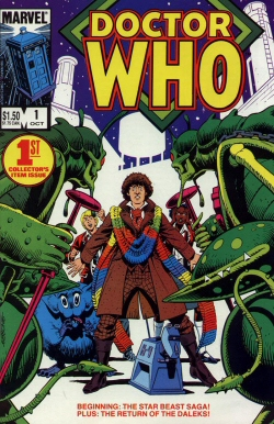 Doctor Who #1 from Marvel Comics