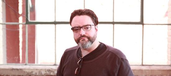 Not-Model Wearing Google Glass