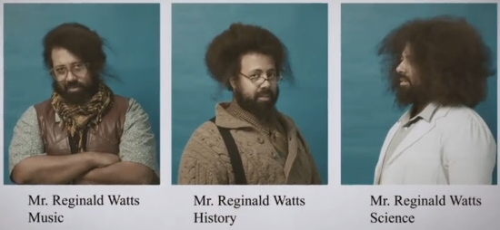 Reggie Watts: Teach: Science