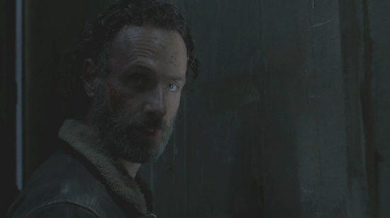 Rick, closing of Walking Dead Season Four