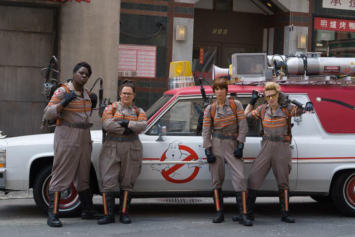 Paul Feig female Ghostbusters