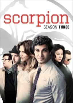 Scorpion Season Three DVD