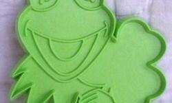 Kermit St. Patrick's Day cookie cutter