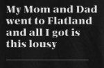Flatland: The Movie and Flatland: The T-Shirt