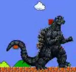 Gojira in Mario World