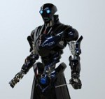 Skynet Watch: Vinegar-Shilling Robot or Shock Trooper?  We Report, You Decide.