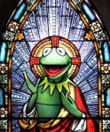 St. Kermit, Martyred by Brian Henson