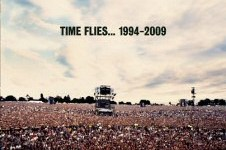 Oasis Time Flies CD Cover Art