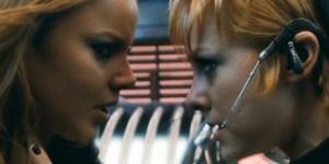 Abbie Cornish and Jena Malone in Sucker Punch