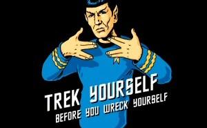 Trek Yourself T-Shirt from Tshirt Bordello