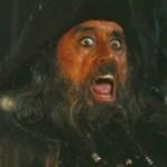 Ian McShane as Blackbeard in Pirates of the Caribbean: On Stranger Tides 3D