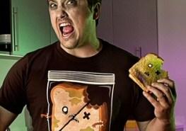 Threadless zombie sandwich